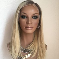 Lace Wig Carré Kim K Blond